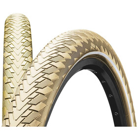 "Continental Contact Cruiser Wired-on Tire 28"" E-25 Reflex creme"